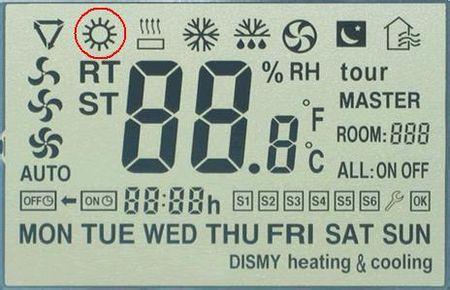 开启制热模式